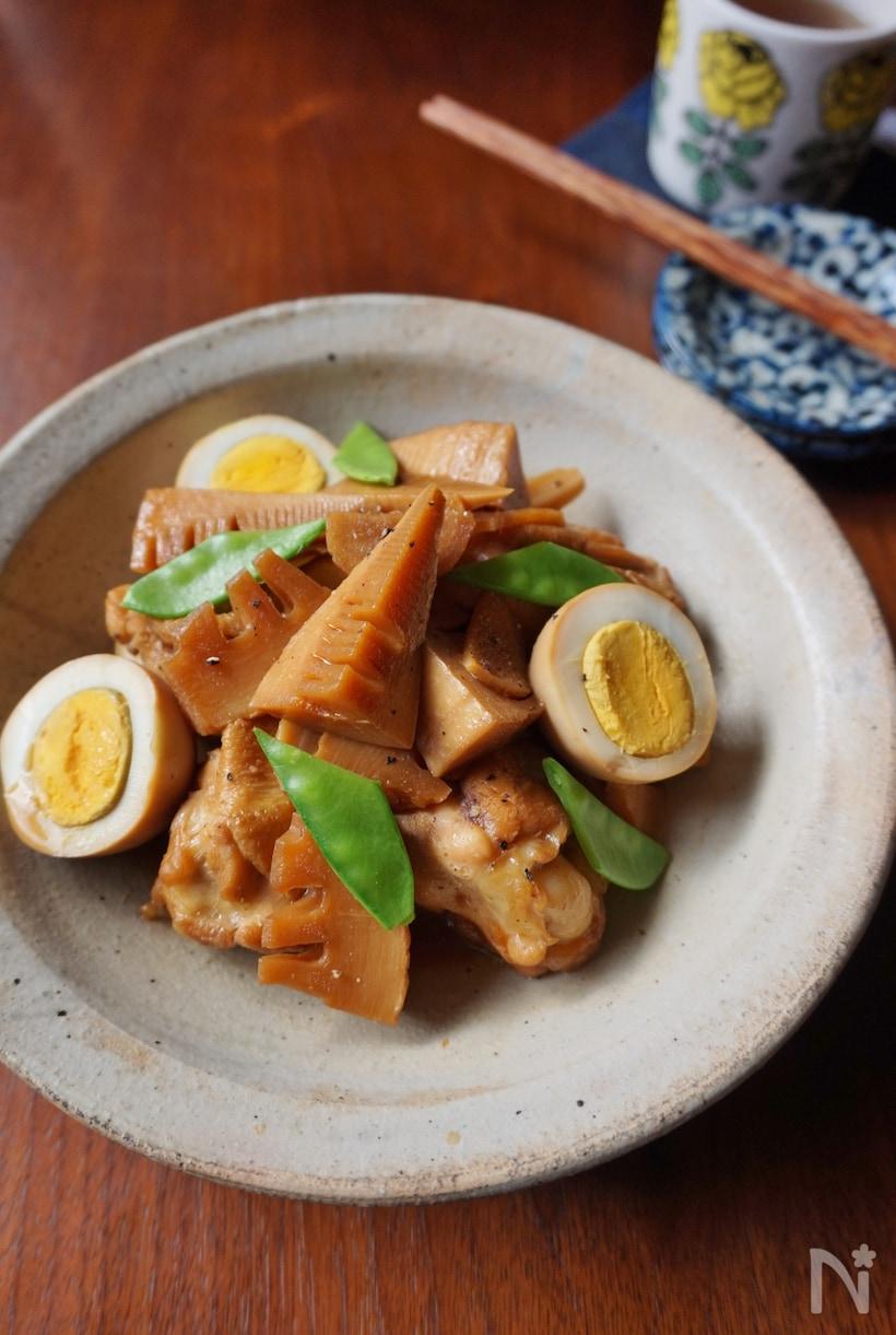 旨味がギュッ!「たけのこの煮物」の基本レシピ&アレンジ調理7選の画像