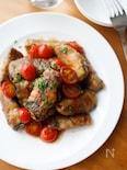 『なすの肉巻き ミニトマトソース』#ボリューム#お弁当