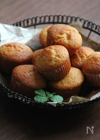 『オイルで作る、プチ・カップケーキ。』