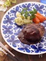 お料理上手に思われたい♡肉汁溢れる☆基本のハンバーグ☆コツ有