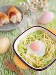 イースターにも!簡単!春キャベツと卵のマヨネーズグリル