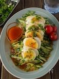 【きゅうりが超合う】ゆで卵とモッツァレラチーズのヨダレーゼ
