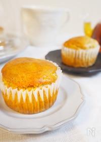 『米粉のバナナカップケーキ(卵、乳、バター不使用)』