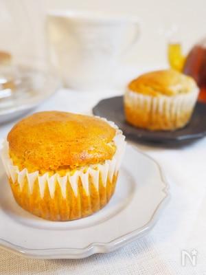 米粉のバナナカップケーキ(卵、乳、バター不使用)