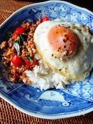 本格タイ料理☆ガパオライス