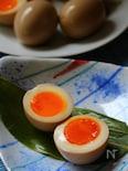 卵がごちそう 浸し瓢亭たまご。