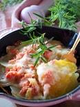 カリカリとろとろ*じゃが芋と明太子のチーズ焼き
