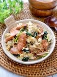 子供が喜ぶ♡『魚肉ソーセージと豆腐のチャンプルー』