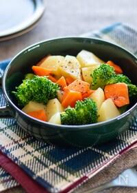 『レンジで温野菜』