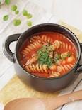 簡単・時短*トマトジュースで具だくさんスープ