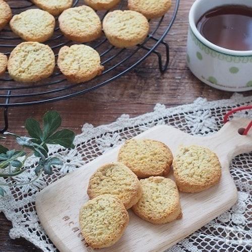 【おからパウダー】サクサク。セサミおからクッキー