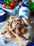 とろ〜りとろける♡マシュマロバナナトースト♡