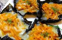 【お盆に楽しませんか!?】かぼちゃの海苔ガレット