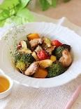 甘辛ダレが美味しい♪鶏肉と野菜のグリル