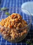 作り置き! 角切り林檎と鶏むね肉のそぼろ Vol.2