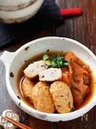 白身魚揚げと小松菜の塩昆布煮【#簡単#時短#包丁不要】