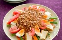 ピーナッツソースの温野菜サラダ、ガドガド