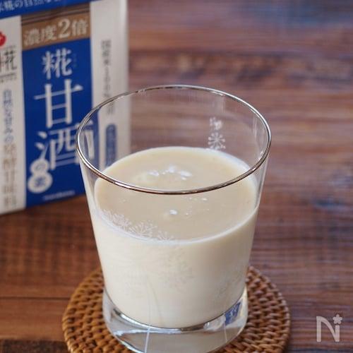 豆乳甘酒ヨーグルト