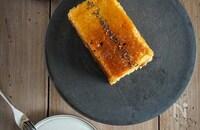 【簡単】小麦粉バターなしさつまいもオートミールパウンドケーキ
