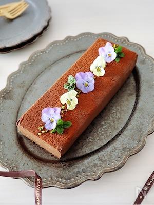 材料4つde簡単♡濃厚〜とろける美味しさ♡ショコラテリーヌ