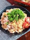 しっとり茹で豚♡【柔らか豚しゃぶの香味サラダ】