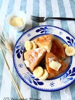 【HM不使用】完熟バナナのふんわりパンケーキ