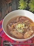 身体に沁みます。*手羽中で簡単参鶏湯風スープ*
