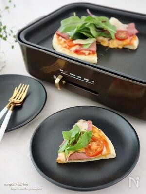 イースト不用!発酵なし!【簡単】ホットプレート ピザ