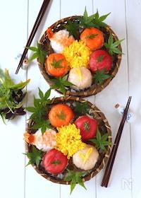 『アレを使って簡単!ぱっかん手毬寿司』