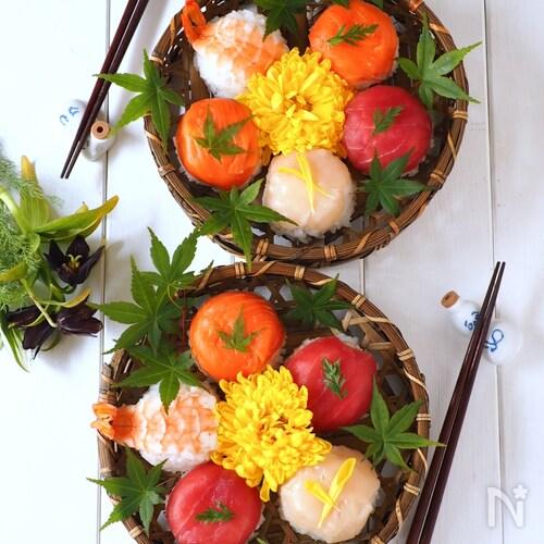 アレを使って簡単!ぱっかん手毬寿司