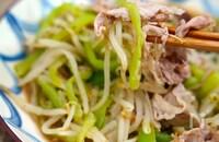 クセになる食感!豚肉とヘチマの炒め物