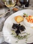 黒豆の塩昆布和えon黒ごま豆腐