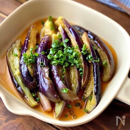 レンジで作る野菜のご馳走♪なすの中華風南蛮
