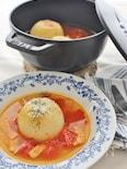 玉ネギ丸ごと、旨みたっぷりスープ