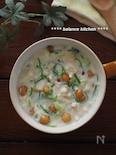 白だしで時短・簡単!きのこの和風豆乳スープ