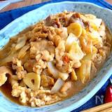 驚きの柔らかさ‼︎食べ盛りにパンチ‼︎豚バラ白菜スタミナ炒め
