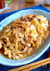 『驚きの柔らかさ‼︎食べ盛りにパンチ‼︎豚バラ白菜スタミナ炒め』