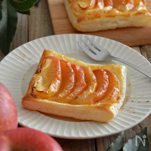 簡単!アップルパイ。冷凍パイシート&レンジりんごでスイーツを