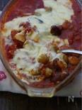 トマトとマヨの焼きカレー