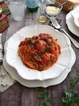 3種のトマトでピリッと辛いトマトスパゲッティ