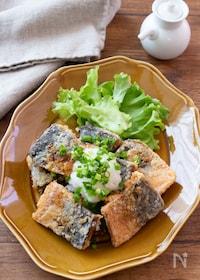 『【DHAたっぷり】《下味調理》さばの竜田揚げおろしポン酢』