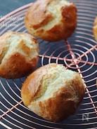 ホットケーキミックス使用*おやつにスコーン風パン