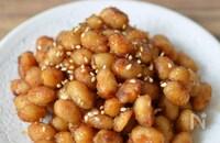 お弁当に大人気!【甘辛大豆】甘辛味のご飯がすすむほっこりお豆