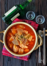『切り身で簡単!*メウンタン(韓国の白身魚の辛いスープ)*』
