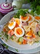【翌日も美味しい秘密】ゆで卵たっぷりボリュームマカロニサラダ