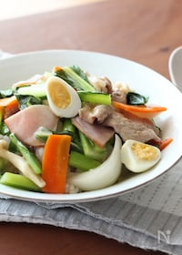 『10分で野菜たっぷり!小松菜の中華丼』