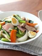 10分で野菜たっぷり!小松菜の中華丼