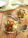 コロコロ野菜のカップサラダ