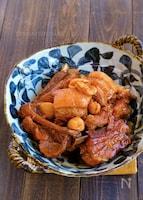 豚バラとスペアリブの簡単にんにく煮