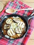 LODGEスキレットで熱々!秋野菜の焼きカレー